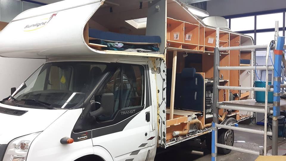 Wohnmobil-Reparatur