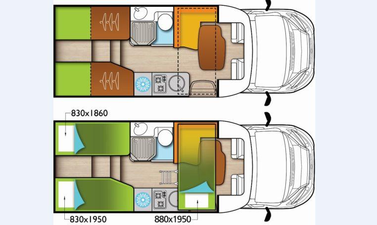Grundriss Forster T649 Dörr Edition
