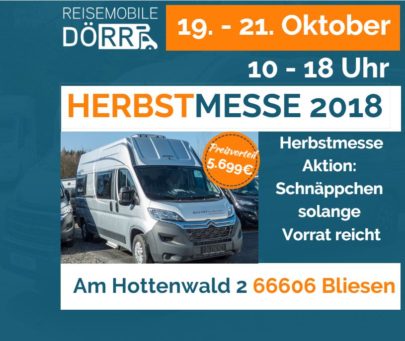 Herbstmesse Aktion