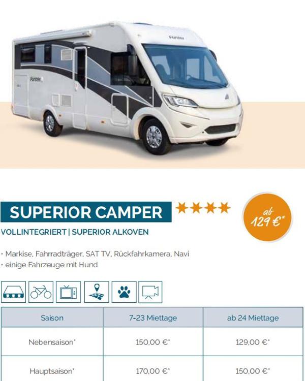 Kategorie Superior Camper