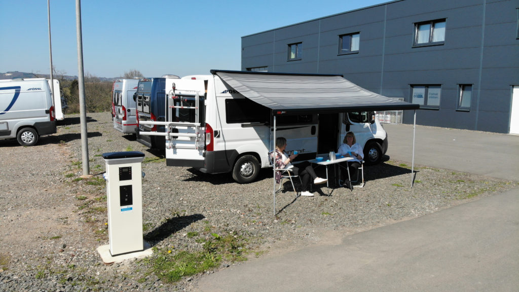 Camping beim Pössl Probewohn-Event bei Reisemobile Dörr