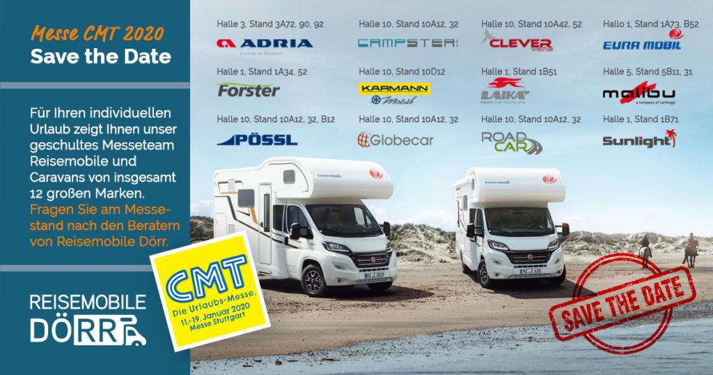 Urlaubsmesse CMT - Reisemobile Dörr